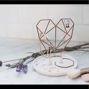 Cute ceramic jewelry holder
